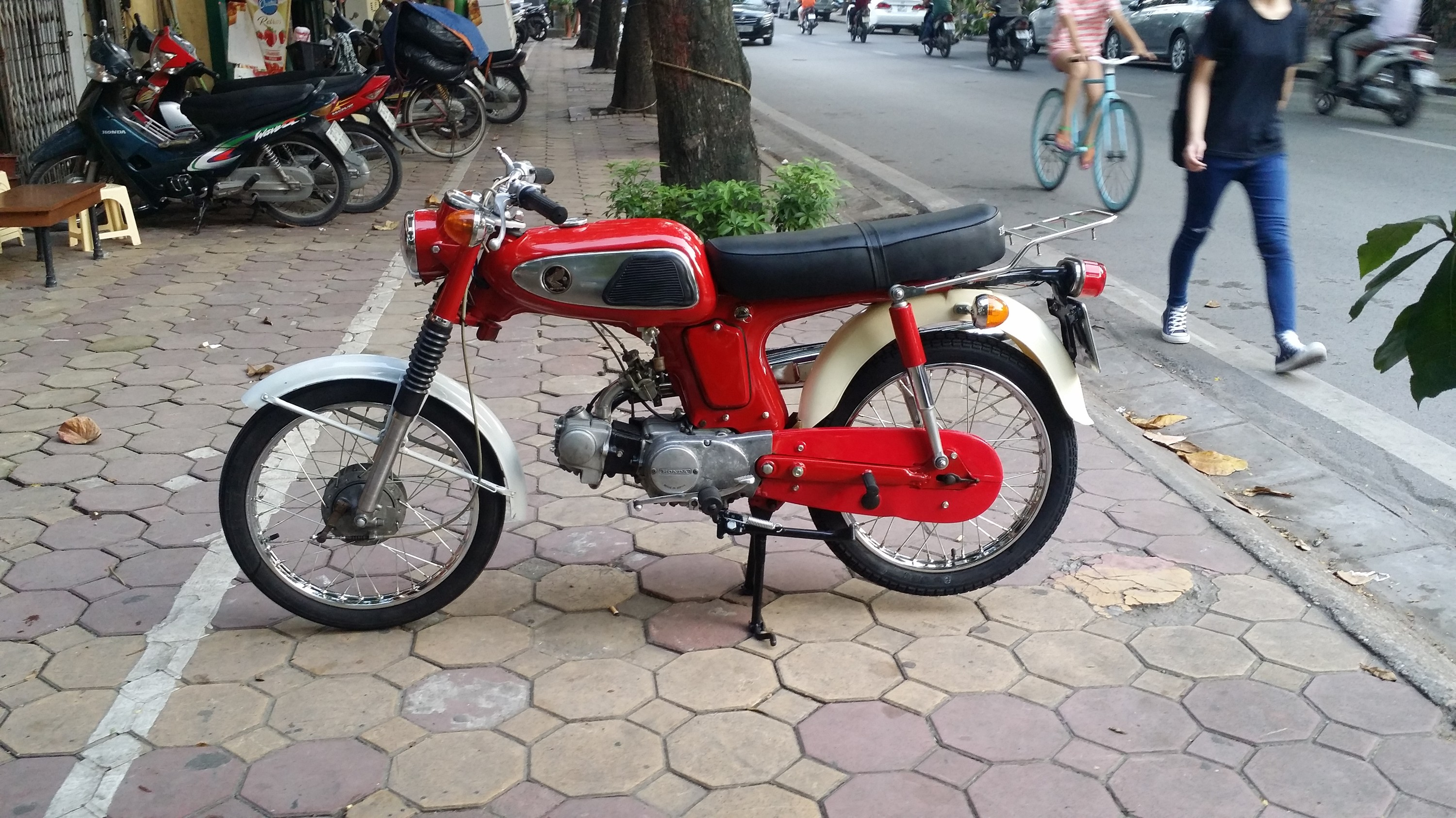 That classic look is priceless in Vietnam!