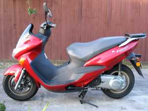 Big bike, 125cc?