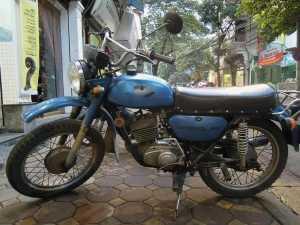 Minsk retro motorbike