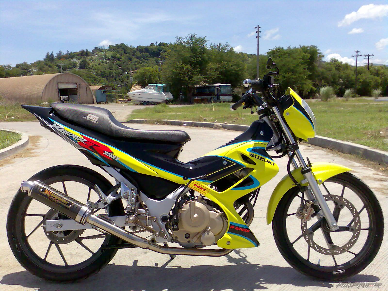 Suzuki Raider Manual Transmission. Street Racer!