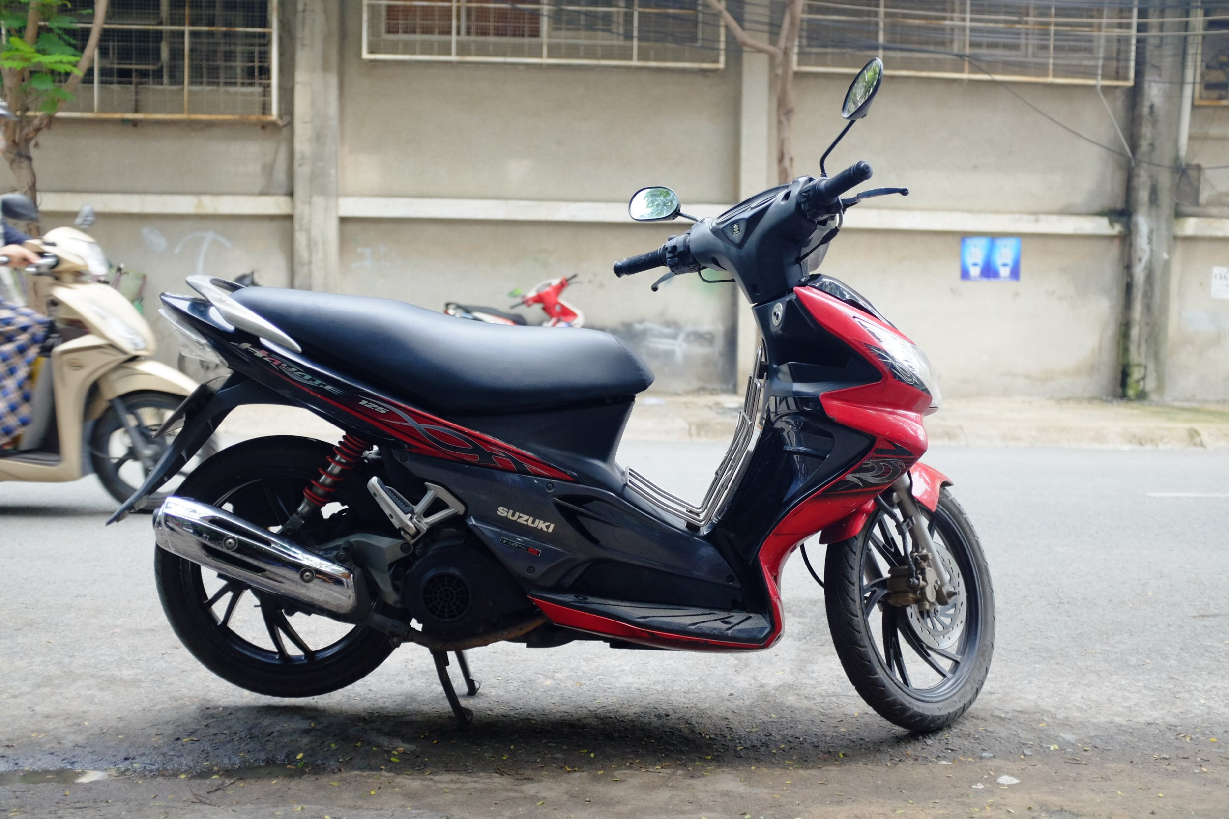 The Hayate is without question the best value for money automatic scooter  in Vietnam. It is reliable, has character and for the money, there is  nothing in ...
