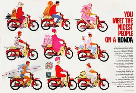 Honda Campaign poster